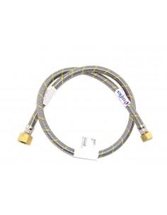 FLEXIBLE ACERO GAS HI 1/2X7/8 100CM CERTIFICADO