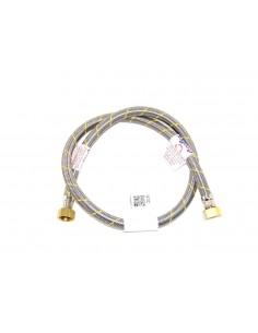 FLEXIBLE ACERO GAS HI1/2X1/2 100 cm CERTIFICADO
