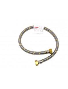 FLEXIBLE ACERO GAS HI1/2X1/2 60 cm CERTIFICADO