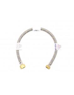FLEXIBLE ACERO GAS HI1/2x7/8 60 cm CERTIFICADO