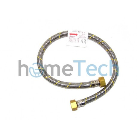 FLEXIBLE ACERO GAS HI1/2X1/2 60CM