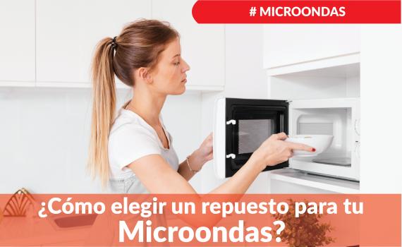 ¿Cómo identificar el plato de microondas?